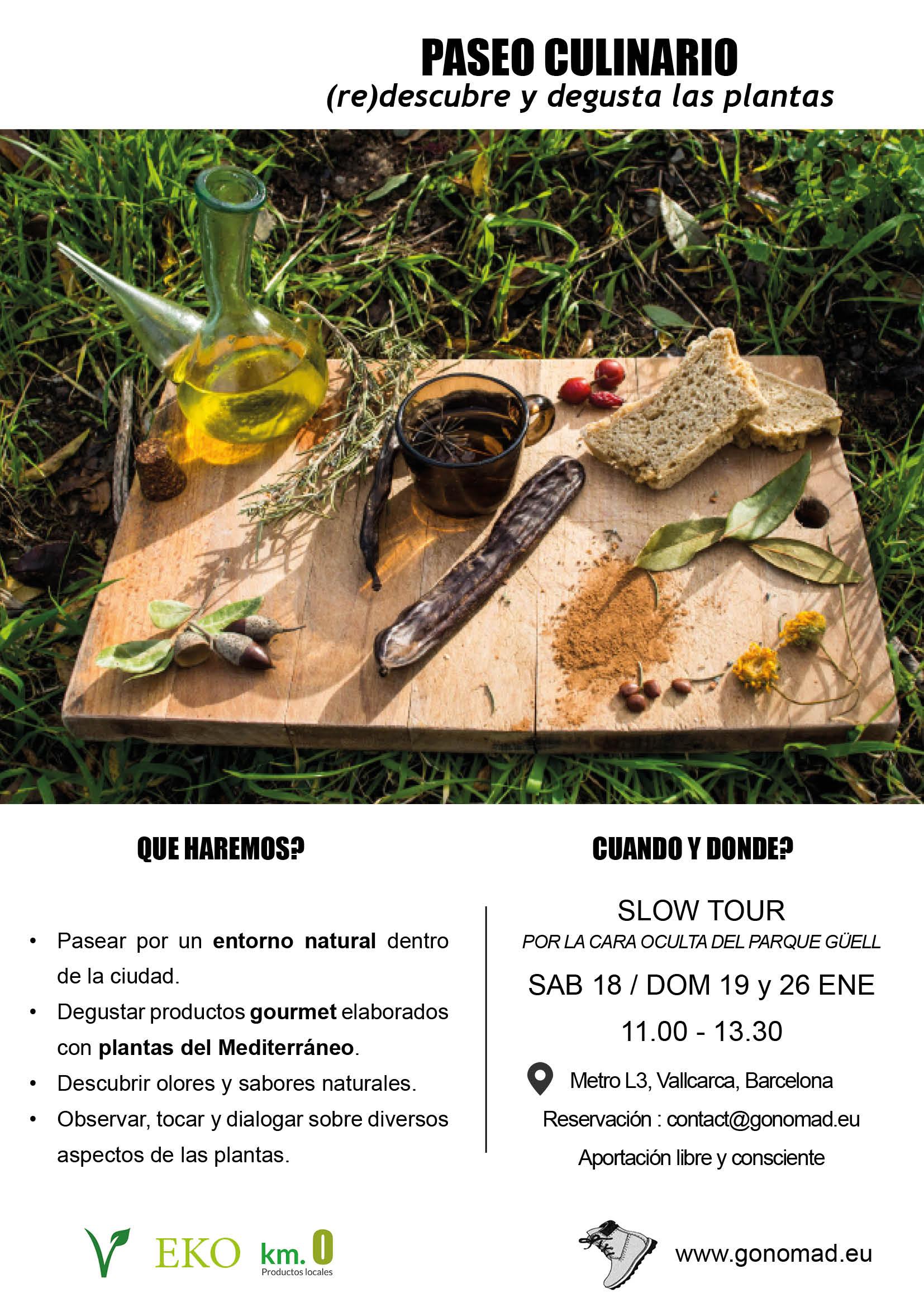 Cartel 2020-Paseo culinario ENE